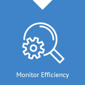capabilities monitor efficiency icon